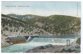 Hauserlake, Montana Postcard:  Häuserlake Dam
