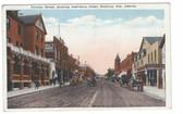 Medicine Hat, Alberta, Canada Postcard:  Toronto Street