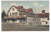 Alton Bay, New Hampshire Postcard:  Emerson's Store & Post Office