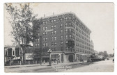 Bismarck, North Dakota Real Photo Postcard:  McKenzie Hotel