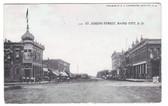 Rapid City, South Dakota Postcard:  St. Joseph Street