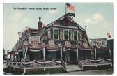 Brant Rock, Massachusetts Vintage Postcard:  The Tradd Co. Store