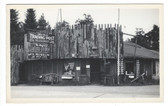 Eagle Bay, New York Real Photo Postcard:  The Old Trading Post Restaurant