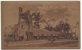 Coral Gables, Miami, Florida Vintage Postcard:  Golf & Country Club