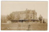 Ludlow, Vermont Real Photo Postcard:  Odd Fellows Home