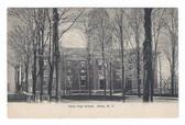 Attica, New York Postcard:  Attica High School