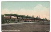 Auburn, New York Postcard:  New York Central Railroad Station
