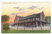 Dover, New Jersey Postcard:  Lackawanna Railroad Station
