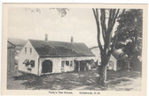 Colebrook, New Hampshire Postcard:  Polly's Tea House