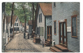 Alton Bay, New Hampshire Vintage Postcard:  Bay Street, Campground