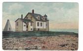 Blue Hill Bay, Maine Postcard:  Sand Island Lighthouse