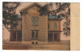 Andover, Massachusetts Vintage Postcard:  High School