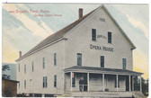 Bryant Pond, Maine Postcard:  Dudley Opera House