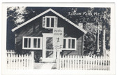 Hollis, Maine Real Photo Postcard:  Indian Cellar Restaurant, Salmon Falls