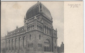 New York City Postcard:  Temple Beth-El Synagogue