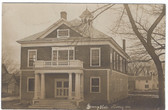 Norway, Maine Real Photo Postcard:  Grange Hall