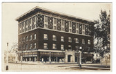 Havre, Montana Real Photo Postcard:  Masonic Temple