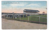 "Caribou, Maine Postcard:  The ""New"" Grand Stand"