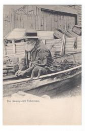 Swampscott, Massachusetts Postcard:  The Swampscott Fisherman