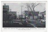 Putnam, Connecticut Postcard:  1936 Flood Debris on Main Street