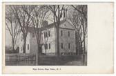 Hope Valley, Rhode Island Postcard:  High School