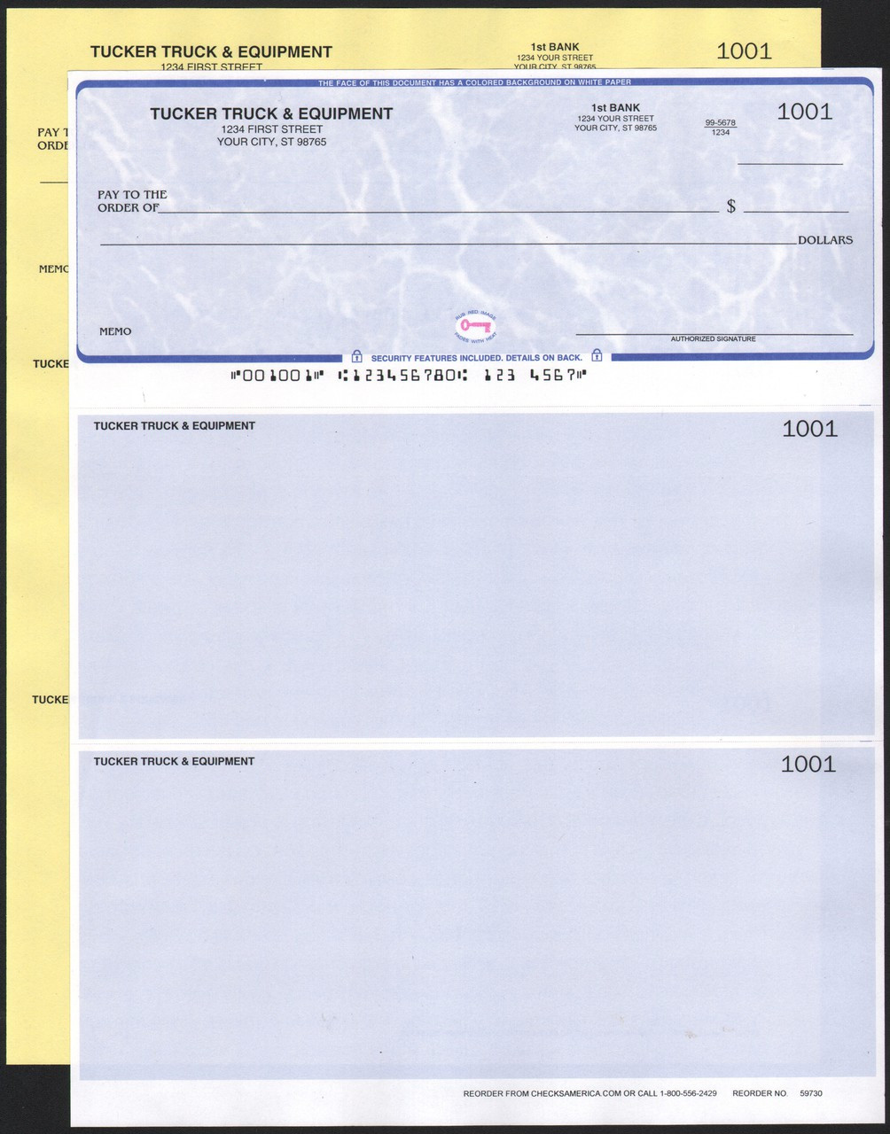 photograph regarding Quickbooks Printable Checks called QuickBooks Appropriate Assessments with a Replica Reproduction - Assessments