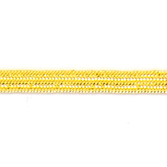 3 LINE Metallic Trim Gold - 60191-00001