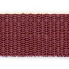 "1"" Cotton webbing MAROON - 60207-00010"