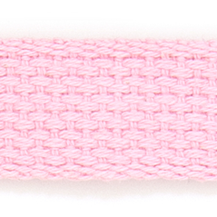 "1"" Cotton webbing PINK - 60207-00014"