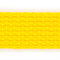 "1"" Cotton webbing FLAG GOLD - 60207-00015"