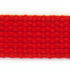"1"" Cotton webbing RED - 60207-00017"