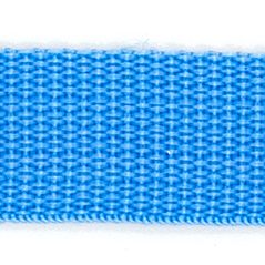 "1"" polyester webbing LIGHT BLUE - 60208-00004"