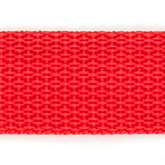 "1"" polyester webbing RED - 60208-00010"
