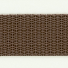 "1"" polyester webbing BROWN - 60208-00018"