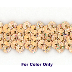 30MM flat loose sequin bag SPOT GOLD - 09083-00032