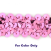 8MM cup sequin strings CANDY - 09073-00016
