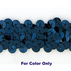 8MM cup sequin strings NAVY - 09073-00041