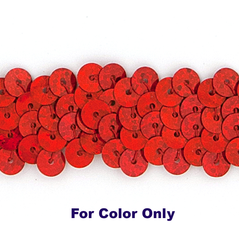 10MM cup sequin strings SPOT RED - 09074-00042