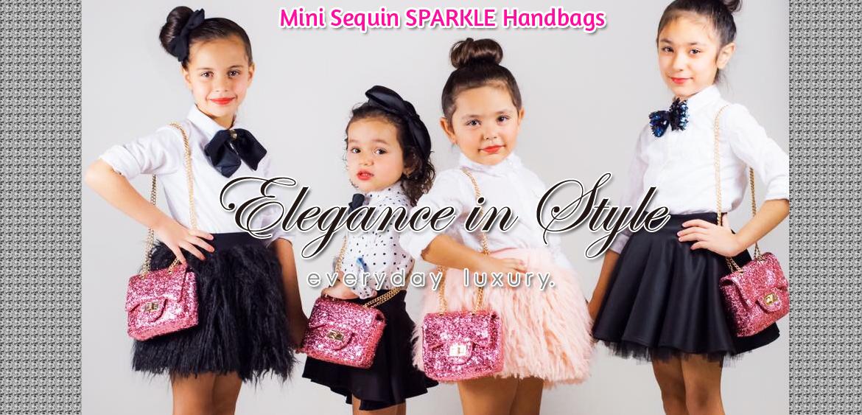 Mini Sequin Sparkle Handbags - Cool Kids Bklyn