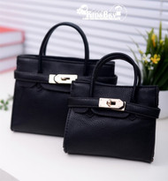 Little Diva H Bag in Black