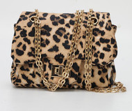 Chiara Mini Crossbody Handbags In Leopard