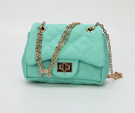 Chiara Mini Crossbody Handbags In Mint green