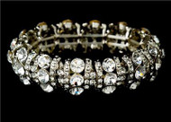 Swarovski Crystal Fashion Wedding Bridal Prom Bracelet WB8181