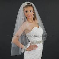 2 Layer Bridal Veil Cut Edge Standard N24