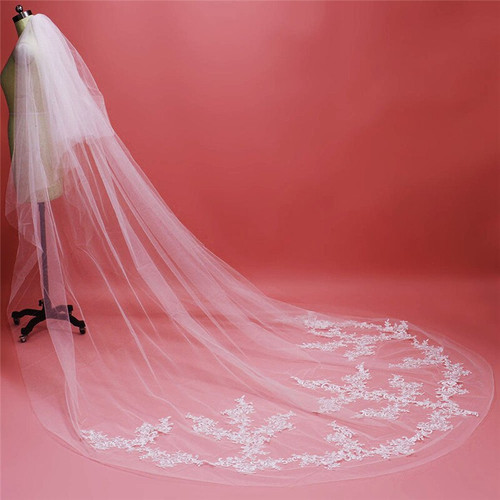 veil with blusher