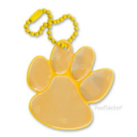 funflector Soft Film Golden Yellow Paw Reflector