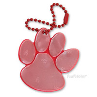 funflector Soft Film Red Paw Reflector