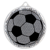 Hard Prism White Round Soccer Ball Reflector