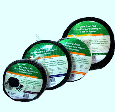 Atlantic Ultra Pond Netting for autumn leaf net and animal control such as herons, hawks, other fish hungry predators | Pond and Garden Depot