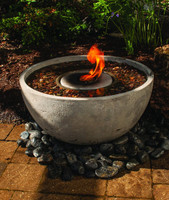 Aquascape fire fountain